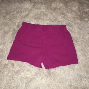 Little pink spandex shorts for girls💗